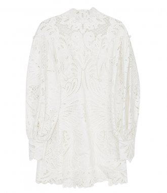 ZIMMERMANN - WAVELENGTH EMBROIDERED MINI