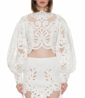 WAVELENGTH EMBROIDERED BODICE