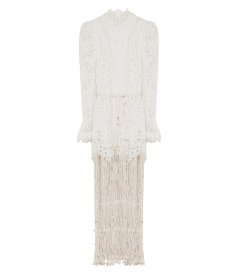 SALES - WAVELENGHT FRINGED GOWN