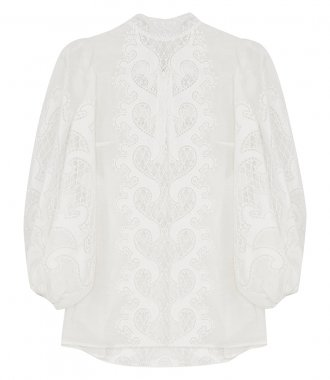 ZIMMERMANN - BRIGHTSIDE EMBROIDERED BLOUSE