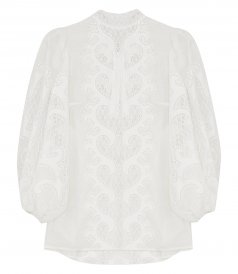 TOPS - BRIGHTSIDE EMBROIDERED BLOUSE