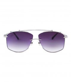 JP JOHN PAN EYEWEAR - GALAXY SILVER METAL SMOKEY
