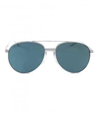 JP JOHN PAN EYEWEAR - EARTH GREEN SILVER METALLIC