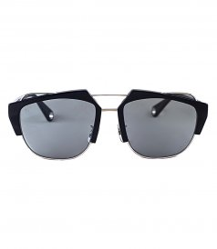 ACCESSORIES - TETRACTYS BLACK METALLIC ACETATE