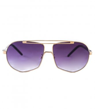JP JOHN PAN EYEWEAR - NEPTUNE BLACK GOLD METALLIC