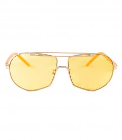 ACCESSORIES - NEPTUNE YELLOW TRANSPARENT GOLD METALLIC