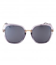 ACCESSORIES - MILKY WAY GREY TRANSPARENT ACETATE