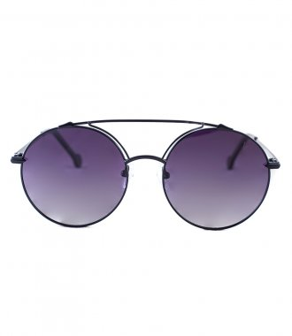JP JOHN PAN EYEWEAR - OCTAVE BLUE MIRRORED METAL
