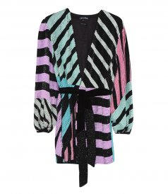 CLOTHES - COLORBLOCK GABRIELLE ROBE
