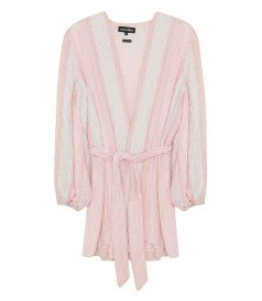 CLOTHES - PASTEL PINK GABRIELLE ROBE