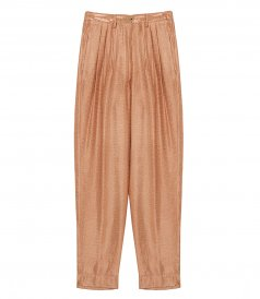 CLOTHES - MOZAIK JACQUARD LUREX PANTS