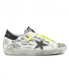 GOLDEN GOOSE  - JOURNEY STAR SUPERSTAR SNEAKERS