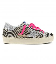 SHOES - ZEBRA HORSY HI STAR