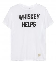 T-SHIRTS - WHISKEY HELPS