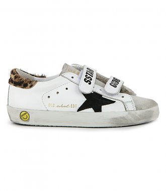 GOLDEN GOOSE  - LEO PONY OLD SCHOOL SNEAKERS