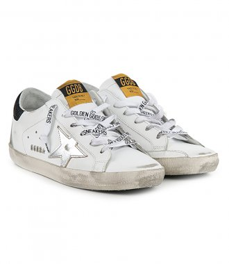 LAMINATED STAR SUPERSTAR SNEAKERS