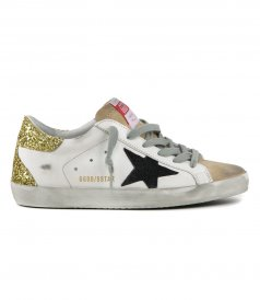 SHOES - GOLD HEEL SUPERSTAR SNEAKERS