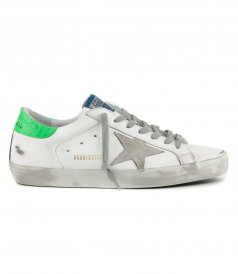 SHOES - COCCO PRINT HEEL SUPERSTAR SNEAKERS