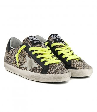 LEOPARD SUPESTAR SNEAKERS