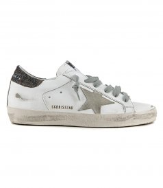 LUREX HEEL SUPERSTAR SNEAKERS