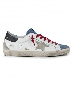SHOES - SUEDE TOE UPERSTAR SNEAKERS