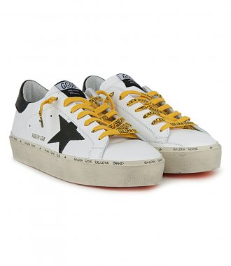 BLACK STAR HI STAR SNEAKERS