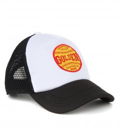 ACCESSORIES - KIDS CAP GOLDEN BASEBALL PATCH