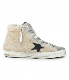 SHOES - FRANCY GLITTER TOE SNEAKER