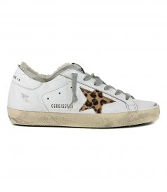 SHOES - LEO HORSY STAR SUPERSTAR SNEAKERS