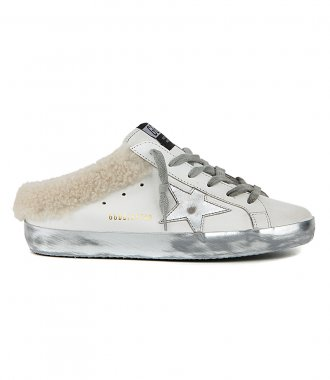 GOLDEN GOOSE  - SABOT WITH SHEARLING LINING