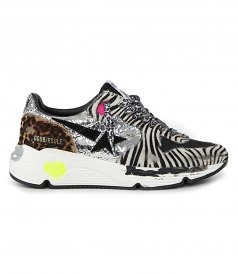 SHOES - ZEBRA HORSY RUNNING SOLE