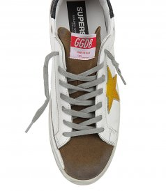 HORSY YELLOW STAR SUPERSTAR SNEAKERS
