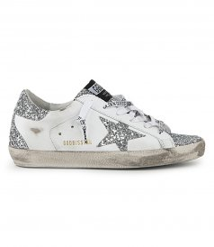 SHOES - GLITTER SUPERSTAR SNEAKERS