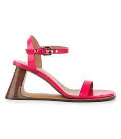 SHOES - SANDAL WEDGE EFFECT