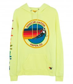 AVIATOR NATION - AVIATOR NEON PULLOVER HOODIE