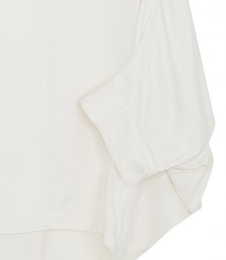 DOLMAN SLEEVE COTTON POPLIN TOP