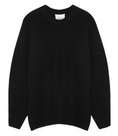 CLOTHES - OVERSIZED ROUND-NECK JUMPER