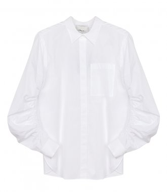 3.1 PHILLIP LIM - SHIRT WITH GATHERED SLEEVES