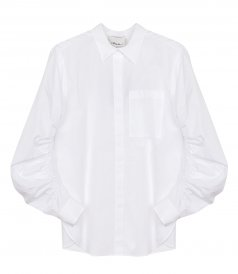 SHIRTS - SHIRT WITH GATHERED SLEEVES