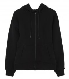 T BY ALEXANDER WANG - SCULPTED ZIP UP H0ODIE