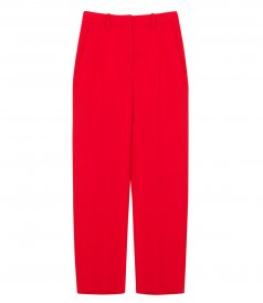 CLOTHES - HEAVY CADY FULL LENGTH TROUSERS
