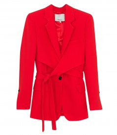 CLOTHES - HEAVY CADY WRAP BLAZER