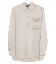 CLOTHES - OVERSIZED SILK SHIRT