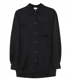 SHIRTS - OVERSIZED SILK SHIRT