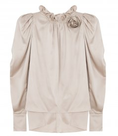 CLOTHES - SILK BLOUSE