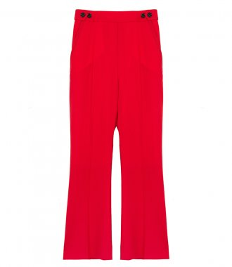 MARNI - FLARED CROPPED TROUSERS
