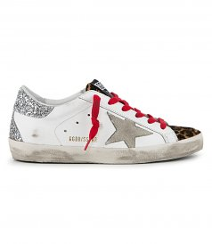 LEO HORSY TOE SUPERSTAR SNEAKERS
