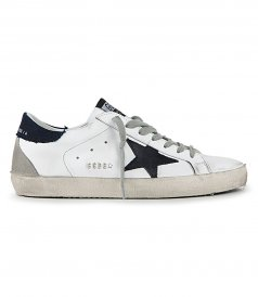 SHOES - DENIM HEEL SUPERSTAR SNEAKERS