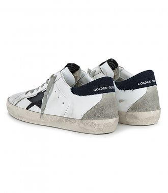 DENIM HEEL SUPERSTAR SNEAKERS