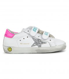 GLITTER STAR OLD SCHOOL SNEAKERS